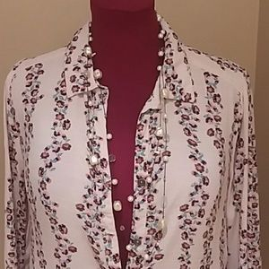 Free people floral, flower flirty dress Medium